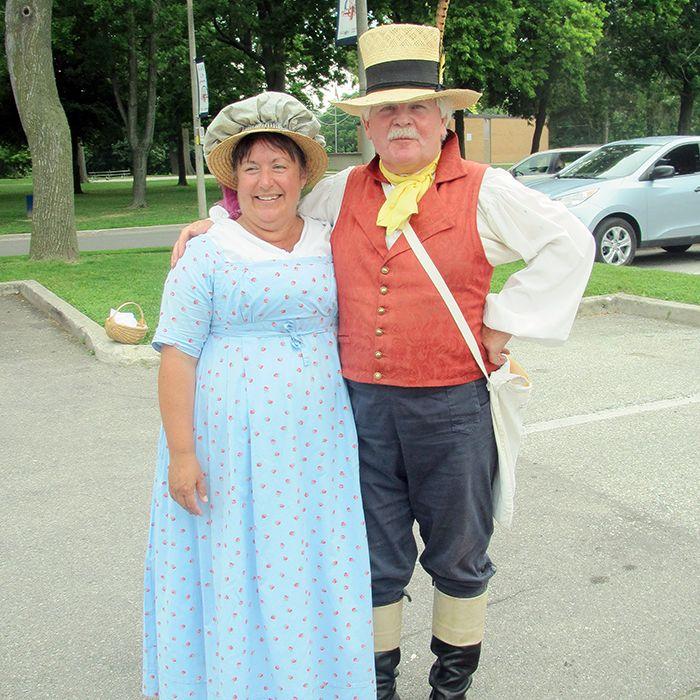 Tour guides Lisa and Jim Gilbert.