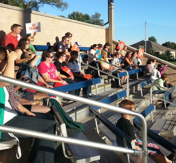flash crowd rocks challenger baseball game chatham voice your
