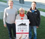 From left, Dan Van Moorsel, first vice president for the Chatham-Kent Home Builders' Association Inc.; Michele Grzebien-Huckson, executive director, Foundation of CKHA; and Dave Depencier, past president, Chatham-Kent Home Builders' Association Inc.