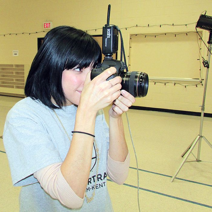Chatham Voice freelancer Sarah Schofield spent Saturday volunteering as part of Help-Portrait Chatham-Kent.