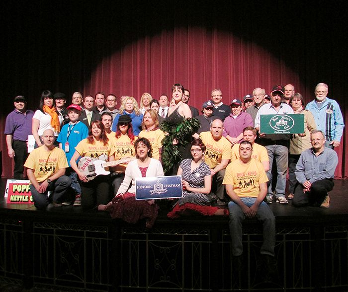 Supporters of Chatham's annual Retrofest gathered recently at the St. Clair College Capitol Theatre.
