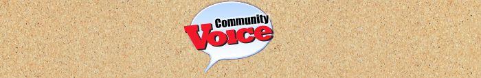 Community Voice header