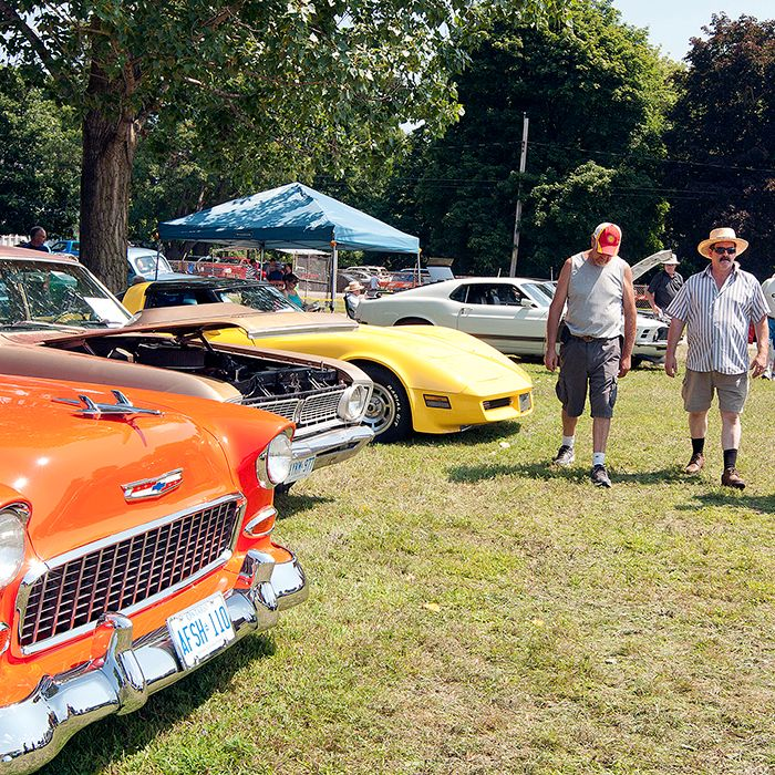 Spectators enjoyed one of the best selections of classic cars in the region on Saturday in Bothwell at the Old Autos Car Show. More than 1,100 cars were on display in Victoria Park over the weekend and almost 6,000 participants flooded into the event.