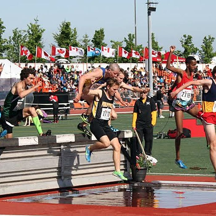 Josh Kellier in action at OFSAA 2014. (Contributed photo)