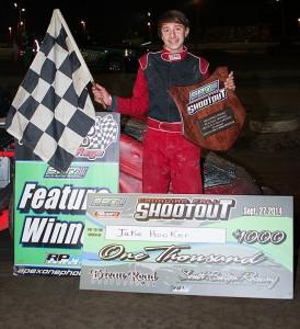 Jake Hooker, Sport Stock Shootout winner. (James MacDonald Photo)