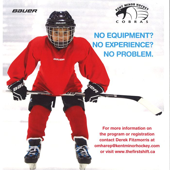 First Shift to introduce kids to hockey | Chatham Voice