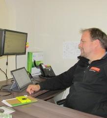Aaron Weir of Leadwave Technologies.