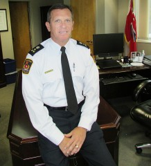 Next April, Chatham-Kent Police Chief Dennis Poole will trade in his office for the golf course, and just maybe a shallow stream or two as he retires after 34 years as a police officer.