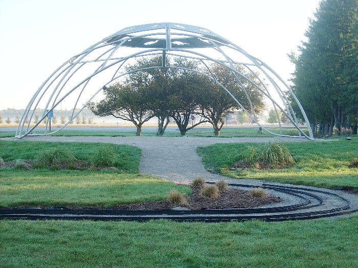 A Place of Many Grasses, the new Tecumeh monument, will be dedicated this weekend.