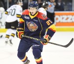 Trent Fox is shown here skating with the OHL's Erie Otters. (Photo by Aaron Bell/ OHL Images)