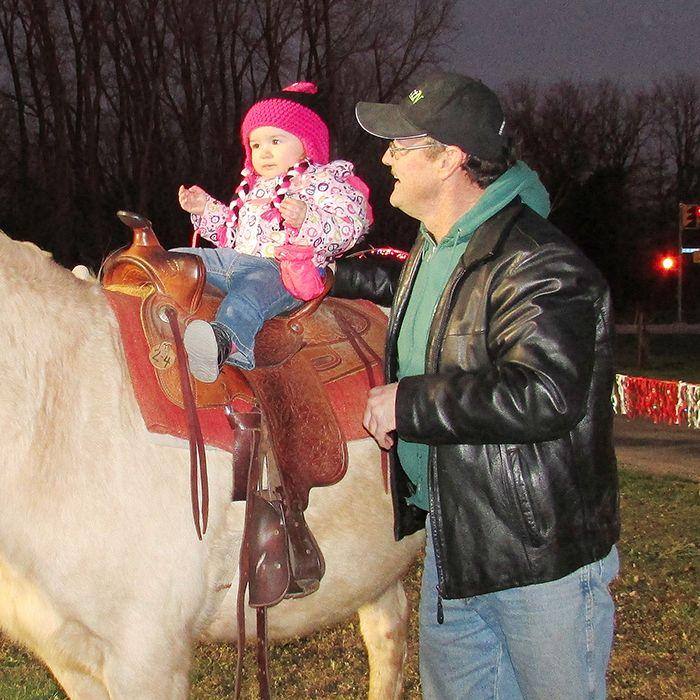 1218xmasvillage pony ride1web