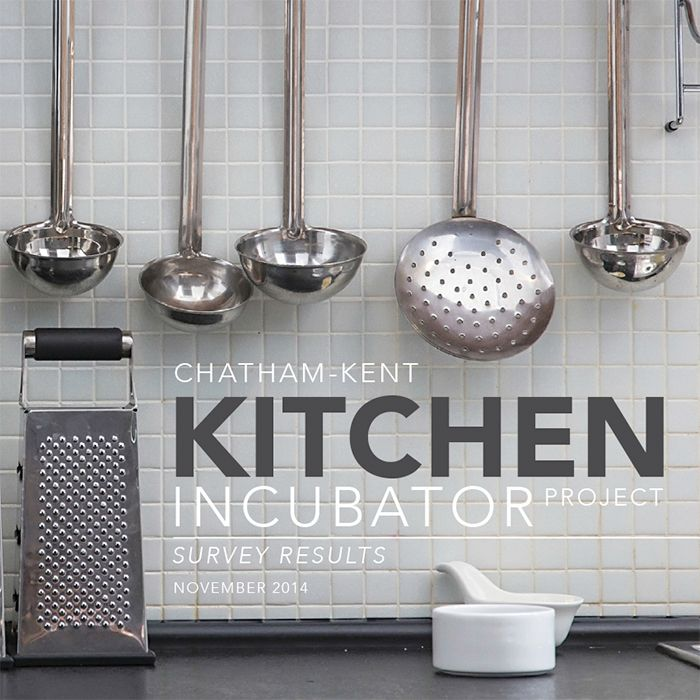 Survey Results In On Kitchen Incubator
