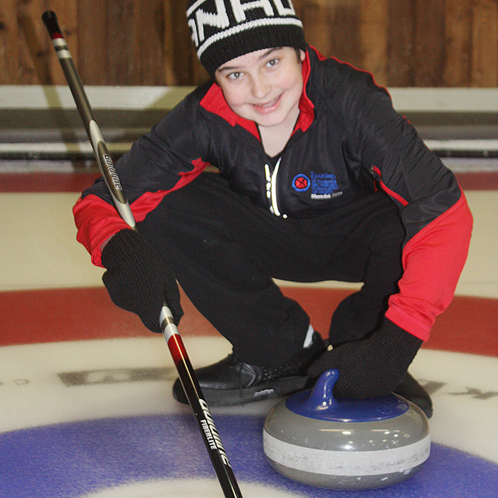 Ethan Hobbs, 12, is so thankful of the treatment he received at the Shriners Hospital for Children in Montreal that he's holding a curling bonspiel to give back.