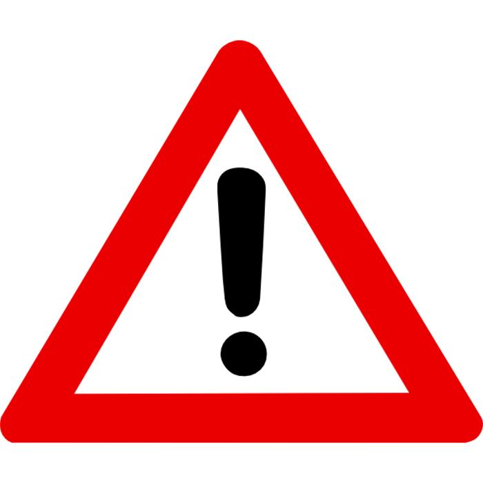 warning sign copy
