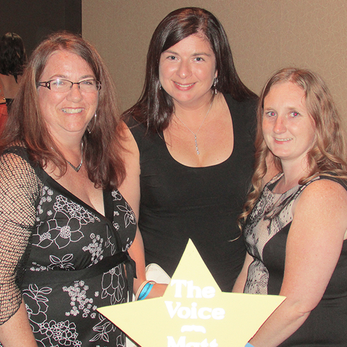 Chatham Voice staff members Mary Beth Corcoran, Fatima Pisquem and Michelle Owchar were three of the estimated 200 folks to take part in the 10th anniversary gala of the Make Children Better Now organization Friday night in Chatham.