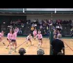 Exhibition university women's volleyball