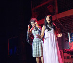 Cerah Steele (left) and Stephanie Garneau as Maria sing one of the many Leonard Bernstain and Stephen Sonheim songs from the legendary musical West Side Story playing at the Capitol Theatre from Thursday through Saturday.