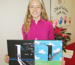 CKSS student Peyton Koole won the poster contest that named the new Door of Hope Walk-In Clinic at Chatham-Kent Children's Services. The clinic offers immediate mental health service to youth aged six to 17 every first and third Wednesday of the month.