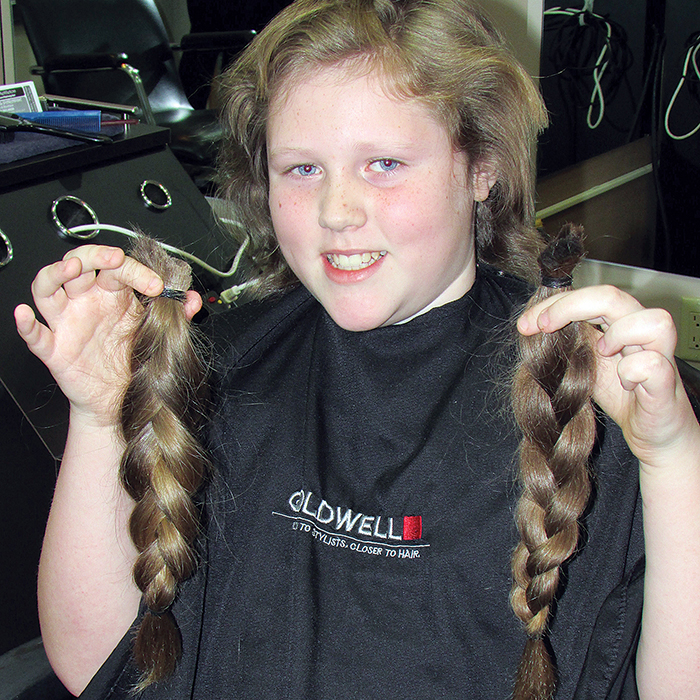 Hair Donation Made Live On Tvo Kids Chatham Voice Your Community