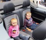 Vallory Calvert, 2 and her big brother Xander, 4, were all smiles as they sat in a convertible at the 2016 Chatham Indoor Car Show. This year's show takes place Friday through Sunday at the John D. Bradley Convention Centre.