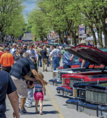 King Street was full of people and cars during last year's RetroFest event in downtown Chatham. The event, taking place Friday and Saturday, attracts tens of thousands of people and hundreds of cars to the downtown area. Photo courtesy Chatham BIA