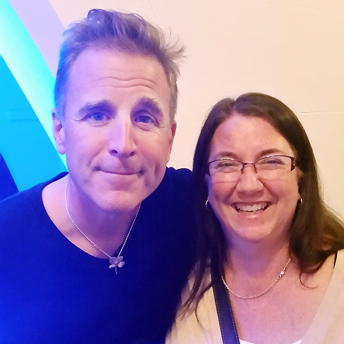 Singer/songwriter Sean McCann entertained a crowd of about 200 people at The Kent 1874 on Saturday night, encouraging audience participation during songs, and detailing his rough road to sobriety. He is pictured here with The Voice's Mary Beth Corcoran.