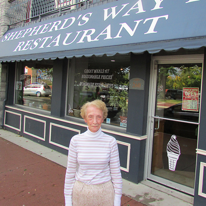 Theresa Nadeau has operated the Shepherd's Way Inn Restaurant for 14 years but ongoing expenses are putting the non-profit enterprise in jeopardy.
