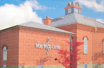 This conceptual drawing shows what the Mary Webb Centre in Highgate will look like once a quarter of a million dollar plus addition is completed.