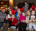 On Friday evening, the Chatham Santa Claus Parade made its way downtown on King Street as as impressive gathering of people lined the streets with their family and friends to watch all the lit up floats. Sarah Schofield/ Special To The Chatham Voice