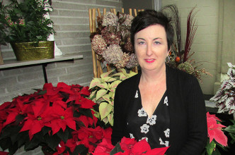 Melodee Delarue and her staff at Syd Kemsley Florist recently celebrated the shop's 60th anniversary.