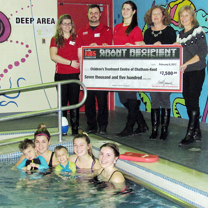 Adapted Swim Program Helping Kids Live The Goodlife
