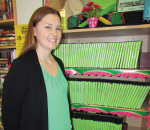 Chatham-Kent Public Library manager of public services Cassey Beauvais stands before the very organized seed library at the Chatham branch. Fruit, vegetable and flower seeds are available in the Chatham, Tilbury, Ridgetown and Wallaceburg branches of the library.