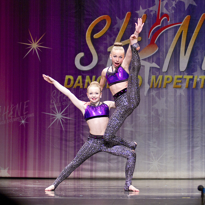 Jaden Tait and Chloe Burridge from London's PowerHouse Dance Company perform an acrobatic routine at the annual Shine Dance Competition on Friday, March 24, 2017 at the Chatham Capitol Theatre. Sarah Schofield/ Special To The Chatham Voice