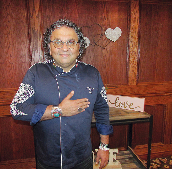 Chef, author and restauranteur Vikram Vij was the featured chef at the 15th Annual Parade of Chefs fundraiser for the CKHA diagnostic imaging equipment campaign, held at Club Lentinas in Chatham Thursday.