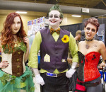 Live action role players and cosplayers including Rielle Shaw as Poison Ivy, Kyle McGrath as the Joker, and Mackenzie Mifflin as Harley Quinn, came from far and wide to the CK Expo held at the John D. Bradley Convention Centre this Saturday, April 29th. In one of the busiest years yet, the event had something for everyone, including celebrities, a games room and vendors. Sarah Schofield/ Special To The Chatham Voice