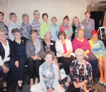 The St. Joseph's Hospital School of Nursing class of 1967 gathered for a picture at the annual alumni luncheon at Club Lentinas May 3. Celebrating 50 years was, from back left, Donna Crow, Mary Riseborough, Olive Dietrich, Marilyn Braithwaite, Bernadette Bell, Elaine Allin, Nanette Carter, Pamela Ostrander, Janice Mason; (middle row from left) Mary Cowan, Frances Landry, Diana Furlan, Sandy Sims, Michelle Rondeau, Janet Kempe, Mary Sue Caron, Bonnie Wooten; and (sitting in front from left) Geraldine Clark, Dorothy Provost.