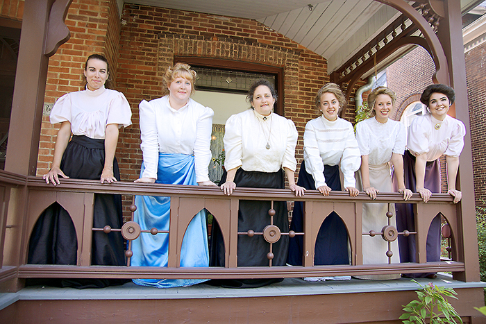 The staff of Milner House.
