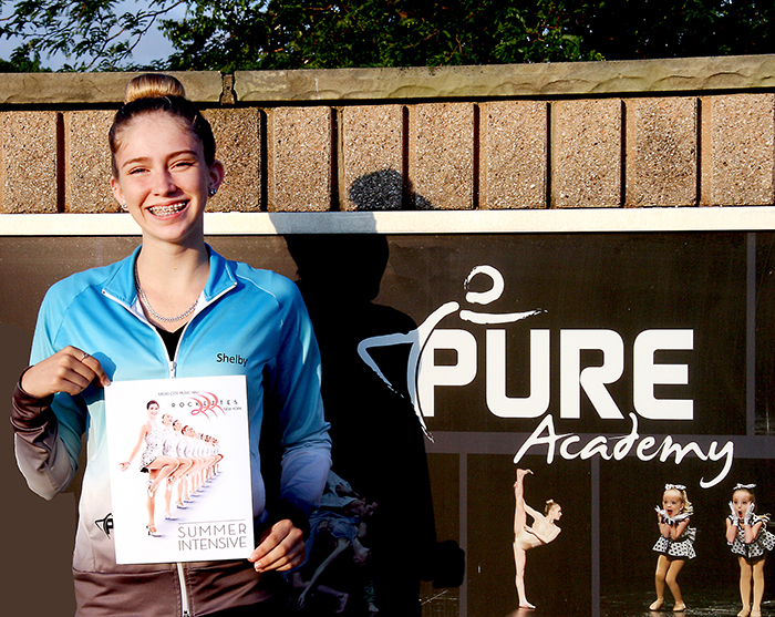 PURE dancer Shelby Lee Olmsted is off to New York City this summer to kick it with the Rockettes.