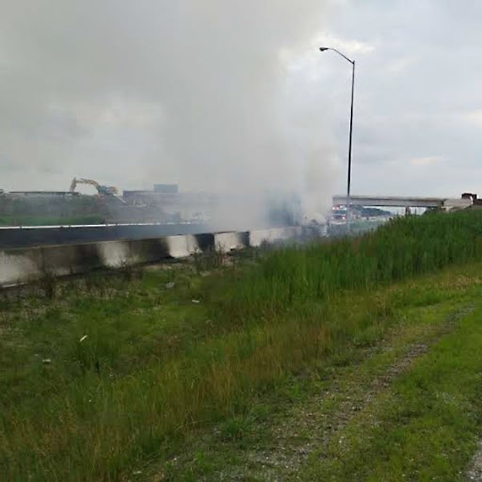 Windsor man charged after 401 tractor trailer fire near Chatham