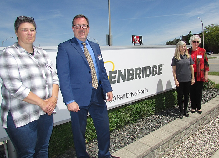 Enbridge committed to C-K - The Chatham VoiceThe Chatham