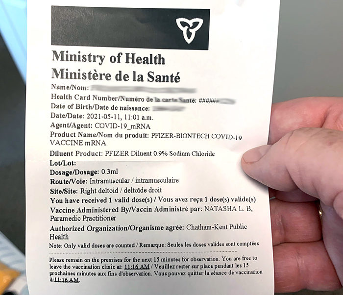 Province opens up vaxx passport app for download